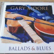 CDs de Música: GARY MOORE BALLADS AND BLUES CD +DVD. Lote 213396060