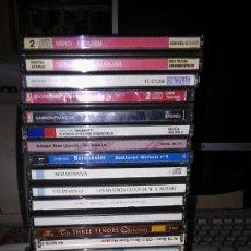 CDs de Música: LOTE DE 54 CDS DE MUSICA CLÁSICA (CAJAS CON 5 CDS, 3 CDS, 2 CDS Y 1 CD) FOTOS DE TODOS LOS CDS. Lote 213397556