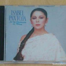 CDs de Música: ISABEL PANTOJA (SE ME ENAMORA EL ALMA) CD 1989 - 1ª EDICIÓN SIN CÓDIGO DE BARRAS. Lote 213397617