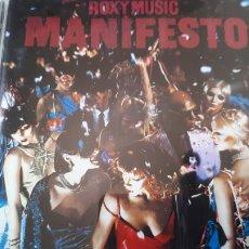 CDs de Música: ROXY MUSIC MANIFESTO. Lote 213410108