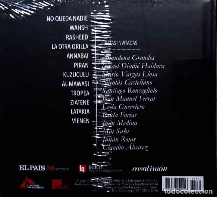 CDs de Música: JAVIER LIMON.REFUGIO DEL SONIDO. MAR LIBIA. ALMUDENA GRANDES. VARGAS LLOSA.SERRAT. JULIAN ROJAS...CD - Foto 2 - 213446108