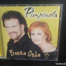 CDs de Música: PIMPINELA - BUENA ONDA (CD) 2000 - 12 TEMAS PEPETO. Lote 213502707