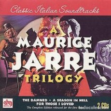 CDs de Música: FOR THOSE I LOVED + THE DAMNED + A SEASON IN HELL / MAURICE JARRE 2CD BSO. Lote 213515122