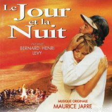 CDs de Música: LE JOUR ET LA NUIT / MAURICE JARRE CD BSO. Lote 213515333