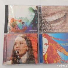 CDs de Música: ALANIS MORISSETTE - LOTE 4 CD´S. Lote 213532325