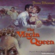 CDs de Música: THE VIRGIN QUEEN / FRANZ WAXMAN CD BSO - VARESE. Lote 213586110