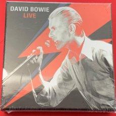 CDs de Música: DAVID BOWIE - LIVE - 10 CD, RARO. Lote 213600291