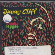 CDs de Música: JIMMY CLIFF / SAMBA REGGAE (CD 14 TEMAS - 1993) - CD. Lote 213610825