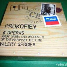 CDs de Música: SERGEY PROKOFIEV / 6 OPERAS / VALERY GERGIEV / DECCA CLASSICS / 14 CD. Lote 213620990