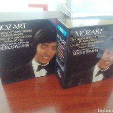 CDs de Música: MOZART. MURRAY PERAHIA. COLECCIÓN CD. LOS CONCIERTOS PARA PIANO Y ORQUESTA. VOLÚMENES 1 Y 2. 13 CDS. Lote 213657195