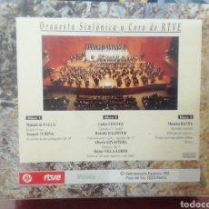 CDs de Música: TRIPLE CD ORQUESTA RTVE. OBRAS VARIAS.. Lote 213657311
