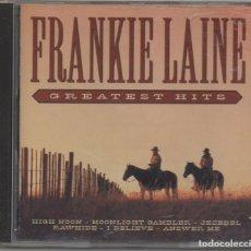 CD de Música: FRANKIE LAINE - GREATEST HITS / CD ALBUM DE 1997 / MUY BUEN ESTADO RF-7135. Lote 213676550