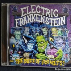 CDs de Música: CD ELECTRIC FRANKENSTEIN THE BUZZ OF 1000 VOLTS VICTORY RECORDS 2001. Lote 213677885