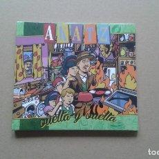 CDs de Música: AKATZ - VUELTA Y VUELTA CD DIGIPACK 2014 NUEVO PRECINTADO SKA ROCK. Lote 213682877