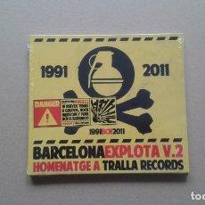 CDs de Música: VARIOS ARTISTAS - BARCELONA EXPLOTA V.2 CD DIGIPACK 2011 NUEVO PRECINTADO PUNK ROCK. Lote 213683610