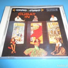 CDs de Música: XAVIER CUGAT / CUGAT IN FRANCE, SPAIN, ITALY / LIVING STEREO / RCA / CD. Lote 213707061