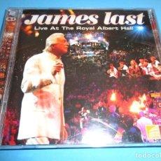 CDs de Música: JAMES LAST / LIVE AT THE ROYAL ALBERT HALL / CONCIERTO EN DIRECTO / EAGLE RECORDS / 2 CD. Lote 213707570