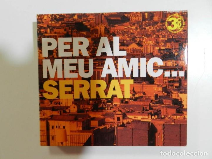 VARIOS - PER AL MEU AMIC SERRAT (TRIPLE CD) (Música - CD's Melódica )