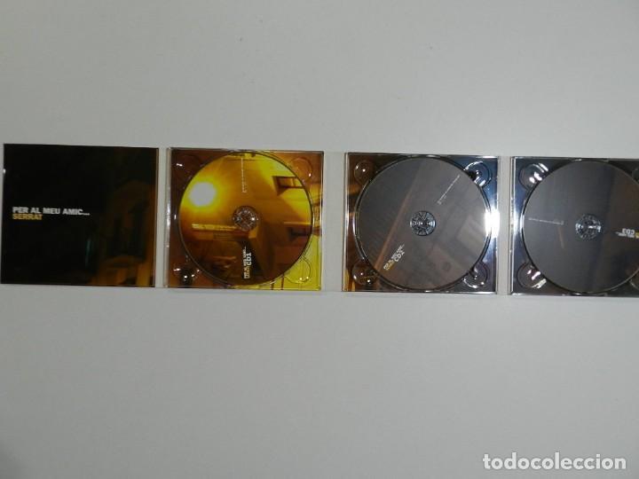 CDs de Música: VARIOS - PER AL MEU AMIC SERRAT (TRIPLE CD) - Foto 2 - 213710813