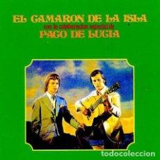 CDs de Música: EL CAMARÓN DE LA ISLA CON LA COLABORACIÓN ESPECIAL DE PACO DE LUCÍA - CD. Lote 213722077