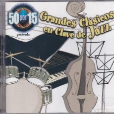 CDs de Música: 50X15 PRESENTA : GRANDES CLÁSICOS EN CLAVE DE JAZZ - 2XCD. Lote 213723142