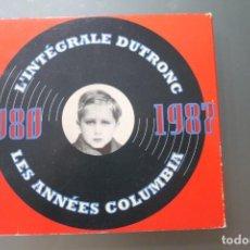 CDs de Música: JACQUES DUTRONC L'INTEGRALE DUTRONC 1980 1987 LES ANNEES COLUMBIA. Lote 213740377
