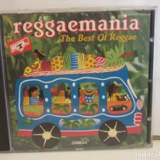 CDs de Música: REGGAEMANIA THE BEST OF REGGAE - BOB MARLEY, JIMMY CLIFF... - CD - 1996 - NM+/NM+. Lote 213768470