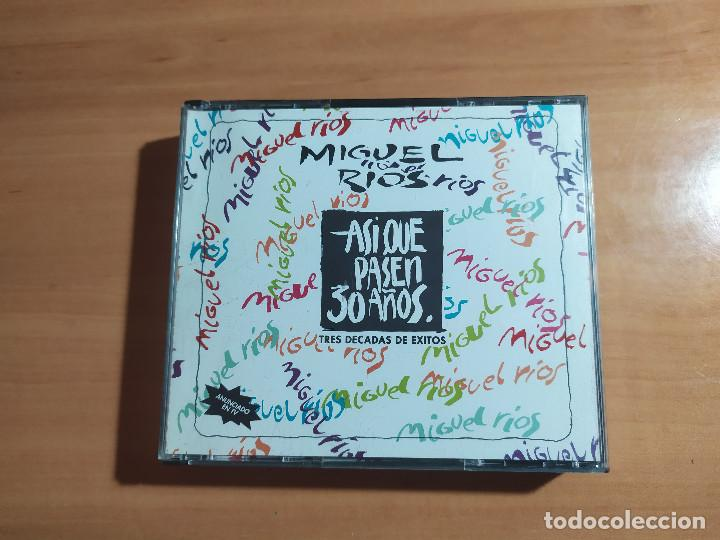 22-00035 -MIGUEL RIOS - ASI QUE PASEN 30 AÑOS (Música - CD's Pop)