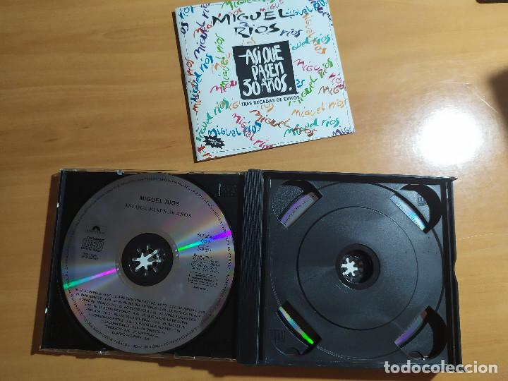CDs de Música: 22-00035 -MIGUEL RIOS - asi que pasen 30 años - Foto 3 - 213782770