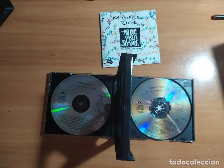 CDs de Música: 22-00035 -MIGUEL RIOS - asi que pasen 30 años - Foto 4 - 213782770