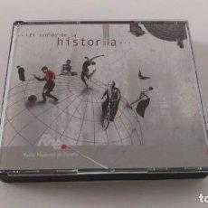 CDs de Música: EL SONIDO DE LA HISTORIA. RNE. DOBLE CD CON SONIDOS DE LA HISTORIA DE ESPAÑA. Lote 213792341