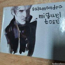 CDs de Música: MIGUEL BOSE - SALAMANDRA. CD CON LIBRETO. EL.PAIS. Lote 213801647