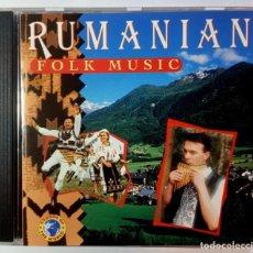 CDs de Música: VARIOS - RUMANIAN FOLK MUSIC - CD PORTUGUES 2000 - SOW. Lote 224870285