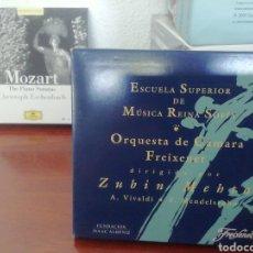 CDs de Música: ORQUESTA DE CÁMARA FREIXENET. ZUBIN MEHTA. VIVALDI MENDELSSOHN. CD. Lote 213807308