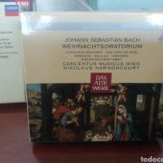 CDs de Música: BACH. ORATORIO DE NAVIDAD. CD. DOS DISCOS.. Lote 213808240