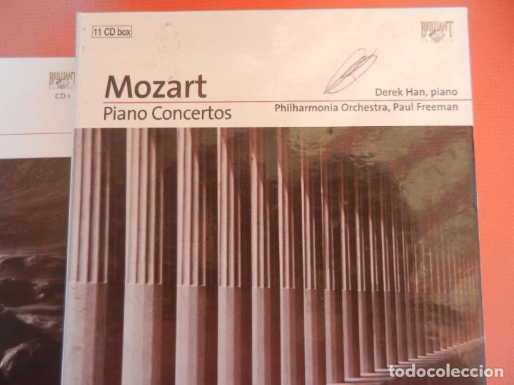 CDs de Música: MOZART - PIANO CONCERTO - DEREK HAN - PHILARMONIC ORCHESTRA, PAUL FREEMAN - 11 CD - BRILLIANT - Foto 2 - 213810111
