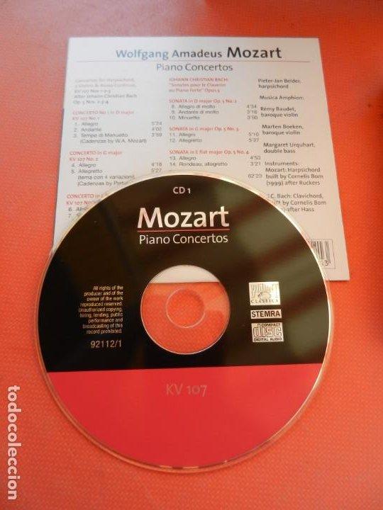 CDs de Música: MOZART - PIANO CONCERTO - DEREK HAN - PHILARMONIC ORCHESTRA, PAUL FREEMAN - 11 CD - BRILLIANT - Foto 4 - 213810111