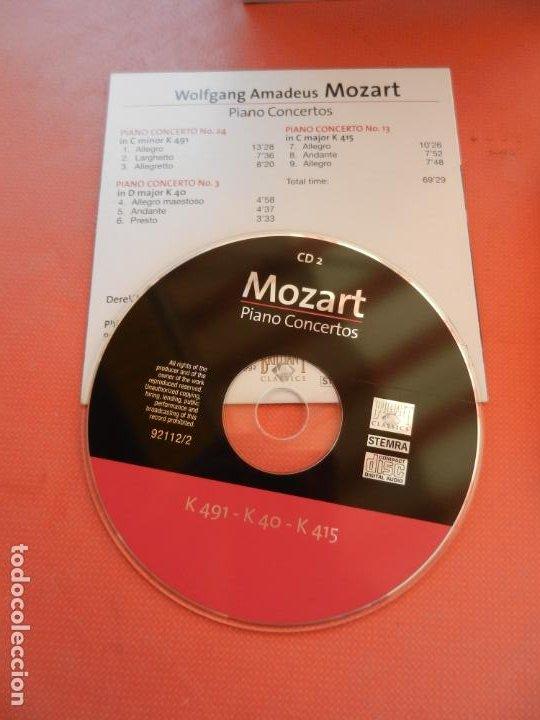CDs de Música: MOZART - PIANO CONCERTO - DEREK HAN - PHILARMONIC ORCHESTRA, PAUL FREEMAN - 11 CD - BRILLIANT - Foto 5 - 213810111