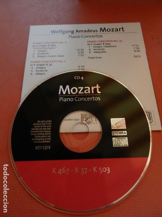 CDs de Música: MOZART - PIANO CONCERTO - DEREK HAN - PHILARMONIC ORCHESTRA, PAUL FREEMAN - 11 CD - BRILLIANT - Foto 7 - 213810111