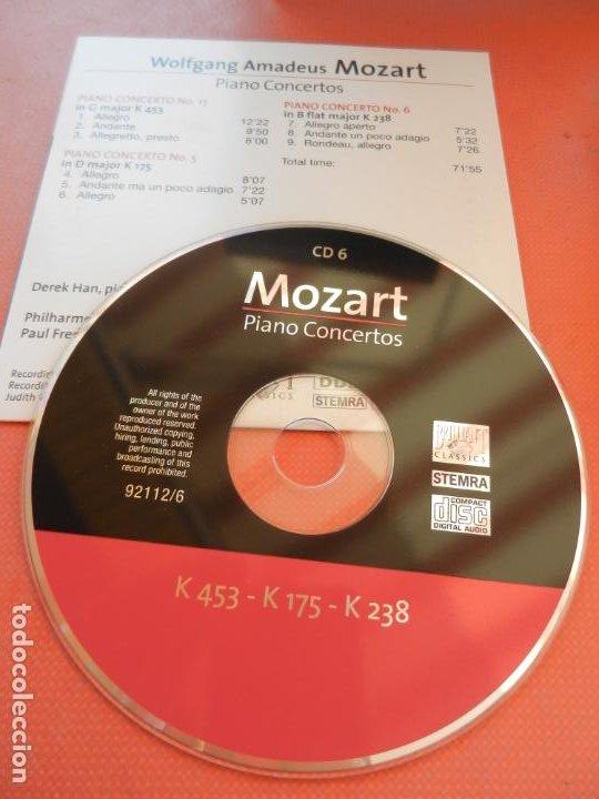CDs de Música: MOZART - PIANO CONCERTO - DEREK HAN - PHILARMONIC ORCHESTRA, PAUL FREEMAN - 11 CD - BRILLIANT - Foto 10 - 213810111