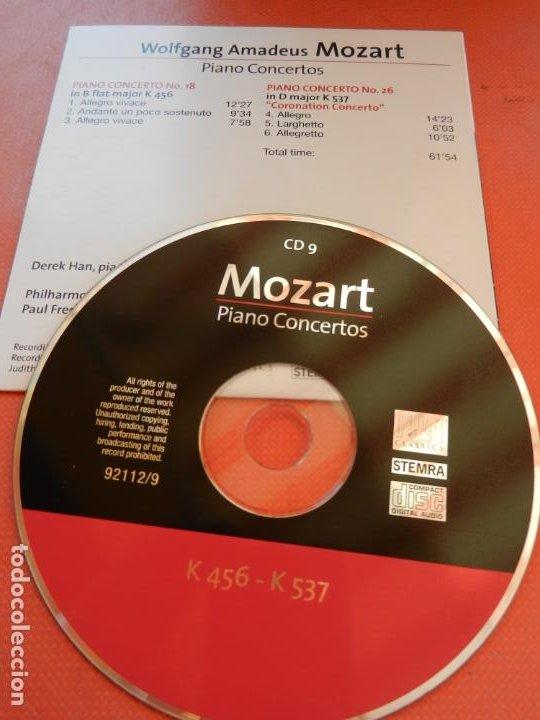 CDs de Música: MOZART - PIANO CONCERTO - DEREK HAN - PHILARMONIC ORCHESTRA, PAUL FREEMAN - 11 CD - BRILLIANT - Foto 12 - 213810111
