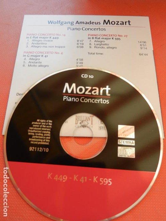 CDs de Música: MOZART - PIANO CONCERTO - DEREK HAN - PHILARMONIC ORCHESTRA, PAUL FREEMAN - 11 CD - BRILLIANT - Foto 13 - 213810111