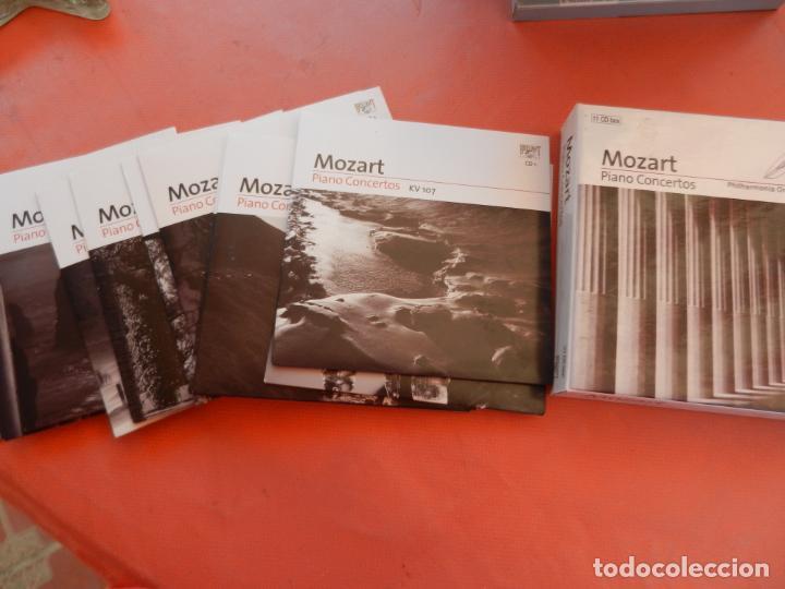 MOZART - PIANO CONCERTO - DEREK HAN - PHILARMONIC ORCHESTRA, PAUL FREEMAN - 11 CD - BRILLIANT (Música - CD's Clásica, Ópera, Zarzuela y Marchas)