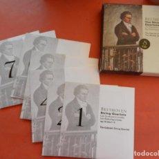 CDs de Música: BEETHOVEN - THE STRING QUARTETS - 8 CD - DECCA - LE FALTA EL CD Nº 3.. Lote 213811096