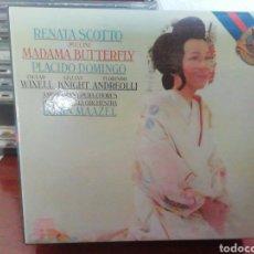 CDs de Música: MADAMA BUTTERFLY. LORIN MAAZEL. RENATA SCOTTO. CD.. Lote 213812736