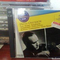 CDs de Música: DAVID OISTRACH. CD DOBLE VARIAS OBRAS.. Lote 213813158