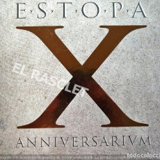 CDs de Música: BOX CD - ESTOPA - X ANNIVERSARIUM - SONY MUSIC 2009 - NUEVO. Lote 213815215