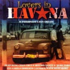 CDs de Música: LOVERS IN HABANA. CELIA CRUZ. EVA GARZA. YOMO TORO. ROBERTO CANTORAL. CD. RITMOS DE CUBA.. Lote 213855505