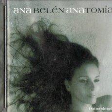 CDs de Música: ANA BELÉN ANATOMÍA (CD). Lote 213856683