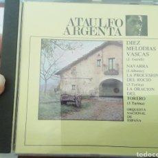 CDs de Música: DÍEZ MELODÍAS VASCAS. GURIDI. CD. Lote 213857972